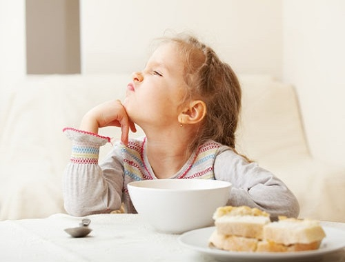 Как приучить ребенка к полезной пище