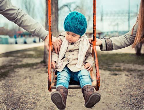 Развестись и не нанести травму ребенку